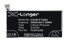 TLG13J24 Replacement Battery
