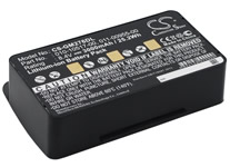 Battery for GPS Garmin GPSMAP 276 276c 296 376 376C 378 495 396 478 010-10517-00