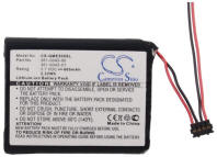 Garmin 361-0043-00 Equivalent GPS Battery