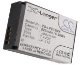 Canon LP-E12 equivalent digital camera battery