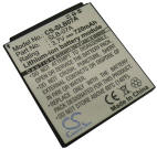 Samsung SLB-07A battery for ST50, ST500, ST550, TL100, TL205, TL210, TL220, TL225, TTL-20