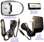 Rechargeable CRV3 RCR-V3 3VCRV3 BP-CRV3 Digital Camera Battery Charger
