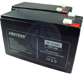 2 - 12 volt 7ah batteries
