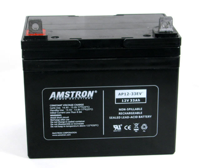 12 volt 33amp sla battery