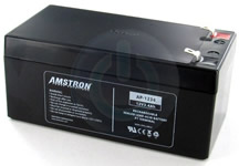 12 volt 3.4Ah SLA battery